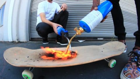 WILL THE SKATEBOARD BREAK? TORCH EDITION - Braille Skateboarding