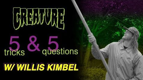 Willis Kimbel 5&5 for Creature Skateboards - Creature Skateboards