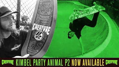 Willis Kimbel - P2 - Party Animal Deck | Creature Skateboards