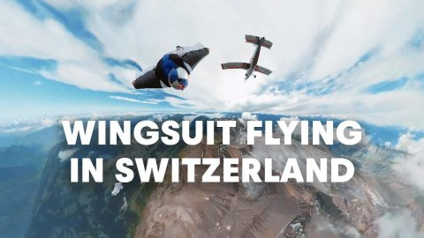 Wingsuit Flying in Switzerland's Vaud Alps with the Red Bull Air Force | Red Bull