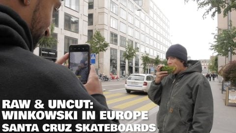Winky's Got Flavors! Erick Winkowski Snacks Through Europe: Raw & Uncut | Santa Cruz Skateboards | Santa Cruz Skateboards