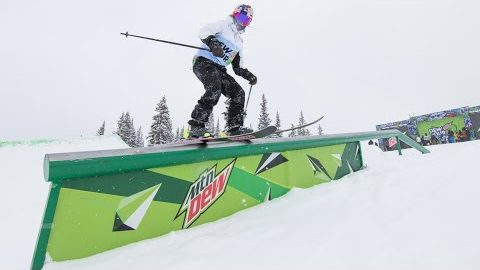 Winning Runs: Mathilde Gremaud Wins Women's Ski Slopestyle | Dew Tour Copper 2020 | Dew Tour
