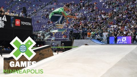 Women's Skateboard Street: FULL BROADCAST | X Games Minneapolis 2018 | X Games
