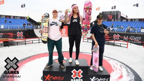 Women's Skateboard Street Highlights | X Games Shanghai 2019 | X Games