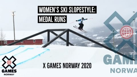 Women's Ski Slopestyle: MEDAL RUNS | X Games Norway 2020 | X Games