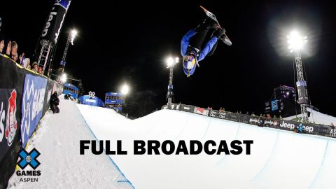Women's Snowboard SuperPipe: FULL BROADCAST | X Games Aspen 2020 | X Games
