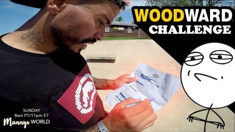 WOODWARDS DICKIES CHALLENGE | MannysWorld