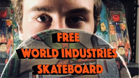 World Industries Skateboard Giveaway!! | World Industries