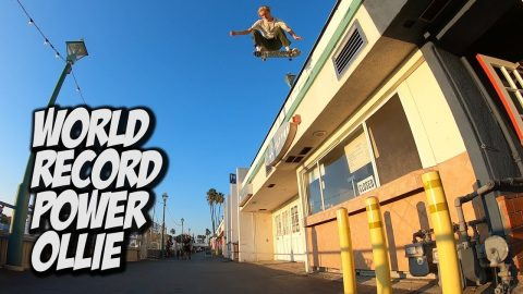 WORLD RECORD POWER OLLIE FEAT.  SHANE BOYER AND ANDY ANDERSON !!! - NKA VIDS - | Nka Vids Skateboarding