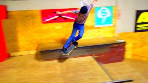 World Skate Team at The Edge Indoor Skatepark - World Industries