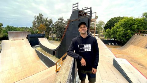 WORLDS MOST AMAZING PRIVATE SKATE PARK Feat.  ELLIOT SLOAN - NKA VIDS - | Nka Vids Skateboarding