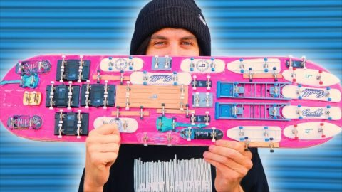 WORLD'S STRANGEST FINGERBOARD SKATEBOARD?! | Braille Skateboarding