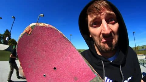 WORST BOARD AT THE PARK | FREMONT MADNESS!! - Braille Skateboarding
