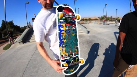 WORST BOARD AT THE PARK | TREFLIP TO WIN A NEW BOARD!