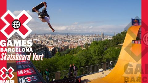X Games Barcelona 2013 SKATEBOARD VERT: X GAMES THROWBACK | X Games