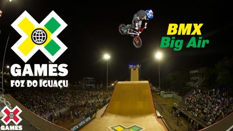 X Games Foz do Iguaçu 2013 BMX BIG AIR: X GAMES THROWBACK | X Games