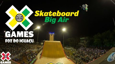 X Games Foz do Iguaçu 2013 Skateboard Big Air: X GAMES THROWBACK | World of X Games | X Games