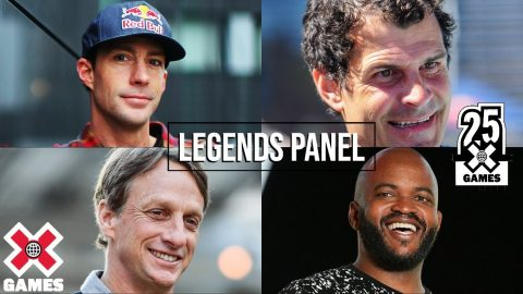 X GAMES LEGENDS PANEL: 25 Years of X | World of X Games | X Games