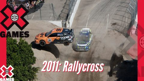 X Games Los Angeles 2011 RALLYCROSS: X GAMES THROWBACK | X Games