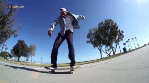 X Games Trick Tips -- Boo Johnson varial heelflip - X Games