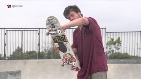 X Games Trick Tips -- Chris Joslin backside bigspin - X Games