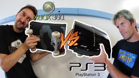 XBOX 360 VS PLAYSTATION 3 | CONSOLE WARS! - Braille Skateboarding
