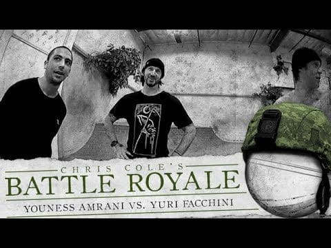 Youness Amrani & Yuri Facchini - Battle Royale - The Berrics