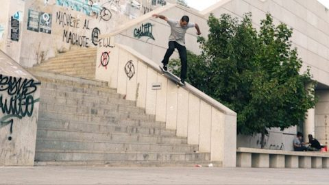 "Youness Amrani's ""Up Against the Wall"" Part - ThrasherMagazine"