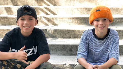 YOUNG PRODIGY SKATEBOARDERS !!! STEVEN AND KRISTION - NKA VIDS - | Nka Vids Skateboarding