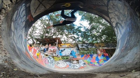 YOUNGEST PERSON TO DO THE LOOP Feat. Cy ROMANO | Nka Vids Skateboarding