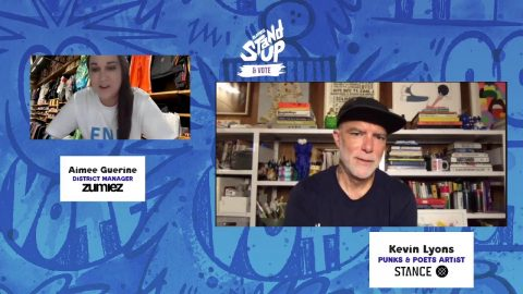 Your Art is Your Voice Featuring Kevin Lyons x Stance : LIVE from Twitch.tv/zumiez   Zumiez
