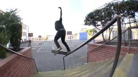 Yuto Horigome LA School Yard Line Raw Cut | E. Clavel