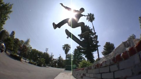 Zach Doelling Fakie 360 Flip Foundation Gap Raw Cut | E. Clavel