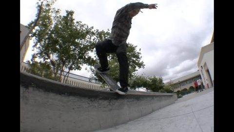 Zach Doelling Halfcab Krooks to bs Nose Blunt Pop Out Line Raw Cut | E. Clavel