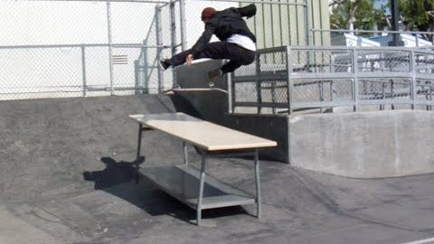 Zach Doelling Kickflip Raw Cut | E. Clavel