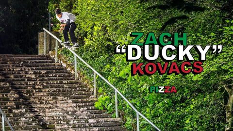 "Zach 'Ducky' Kovacs' ""Pro for Pizza"" Part - ThrasherMagazine"