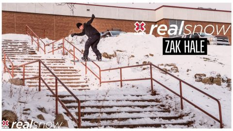 Zak Hale: REAL SNOW 2020 | World of X Games | X Games
