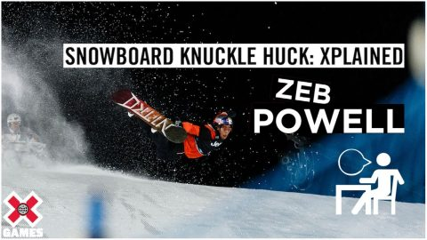 ZEB POWELL: X Games Xplained - Knuckle Huck | World of X Games | X Games