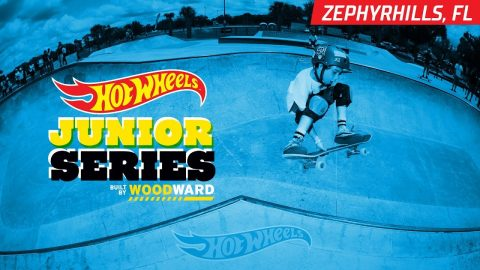 Zephyrhills FL Skate Highlights - Hot Wheels Junior Series - Woodward Camp