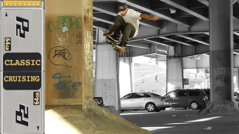 Zered Bassett Classic Cruising #3 Skateboarding NYC | Skateintheday
