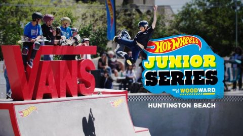 Zion Effs Shreds Huntington Beach - Hot Wheels Junior Series | Woodward