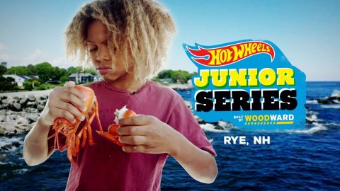 Zion Goes To New England - Hot Wheels Junior Series | Camp Woodward