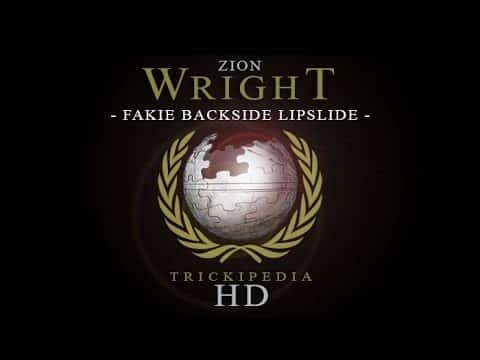 Zion Wright: Trickipedia - Fakie Backside Lipslide - The Berrics