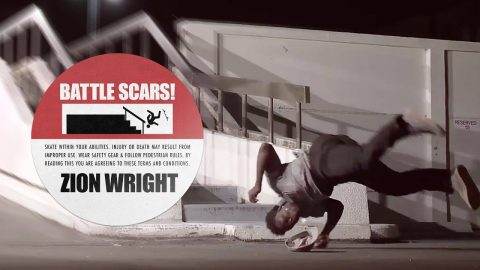 Zion Wright's Battle Scars | The Berrics