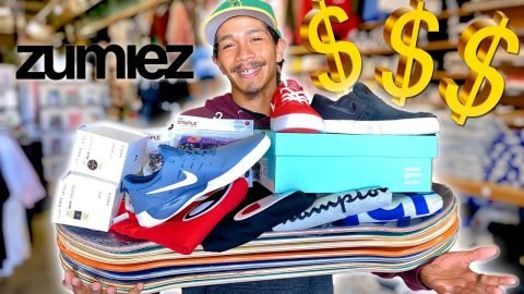 ZUMIEZ ANYTHING YOU CAN CARRY I'LL PAY FOR! FEAT. VINNIE BANH | Braille Skateboarding